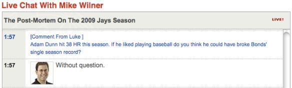 adam dunn hates baseball